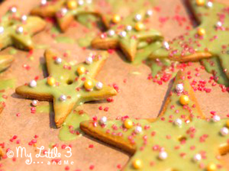 Recipe for a Gingerbread Tree - Christmas cooking with kids