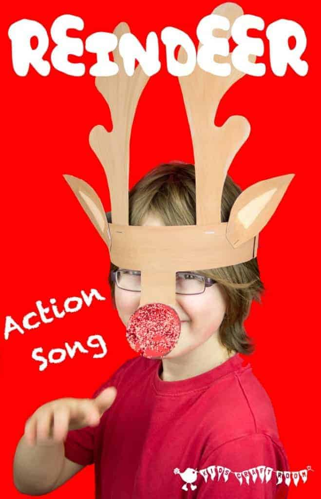 I'm A Little Reindeer - a fun Christmas action song.
