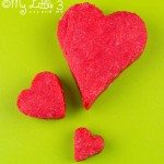 3 red hearts
