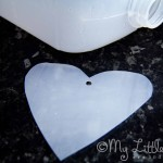 Cut A Heart From The Milk Bottle