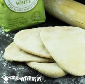 Easy Peasy Pitta Breads