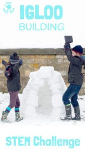 Build An Igloo STEM Challenge