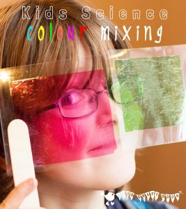 Colour Mixing – Sweet Wrapper Science
