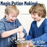 Magic Potion Making! A fun science activity for kids.