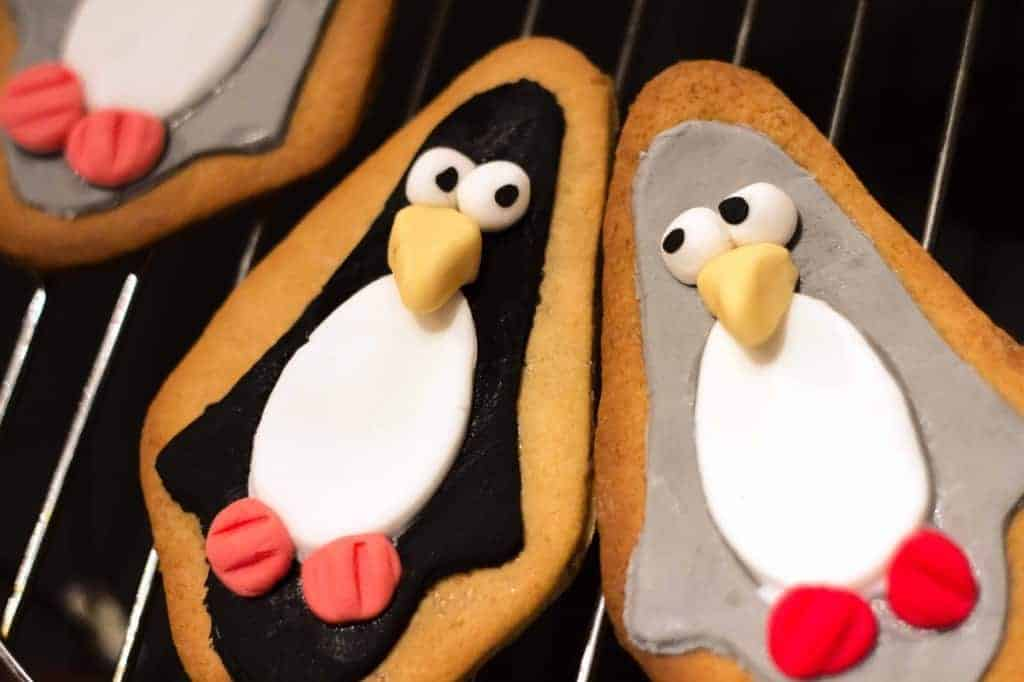 Cute Penguin Biscuits Recipe