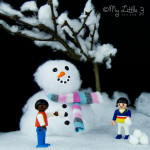 Small World Snow Scene