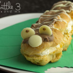 Cute Caterpillar Chocolate Eclair