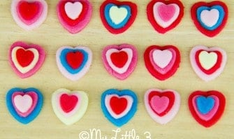 "Cute Bite Sized ""I Love You"" Sweets"