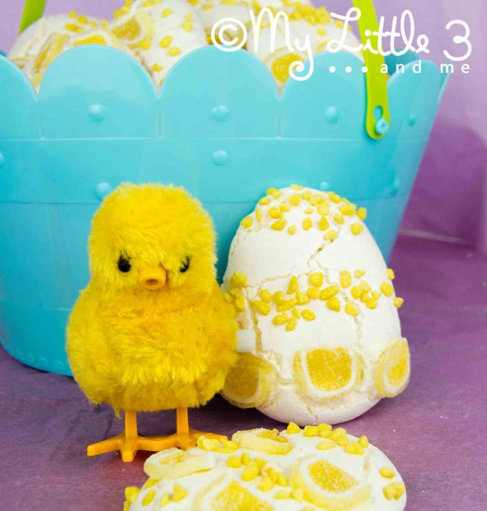 Lemon Meringue Easter Eggs