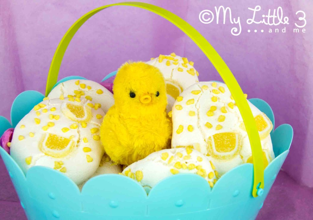 Lemon Meringue Easter Eggs - a great alternative to chocolate at Easter.