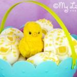 Meringue Easter Eggs