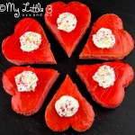 'I Love You' Trifle Cakes
