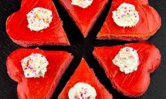 Valentine Trifle Cakes