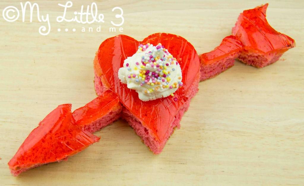 I Love You Trifle Cake
