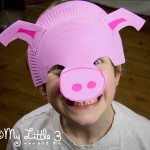 Make A Paper Plate Pig Mask