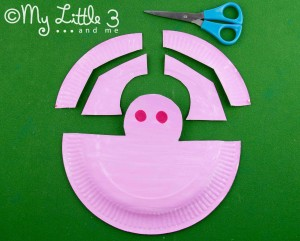 stage 4 paper plate pig mask