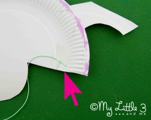 stage 6 paper plate pig mask