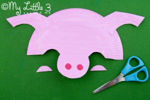 stage 7 paper plate pig mask