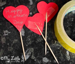 Decorative Cake Toppers For Mother's Day Doughnut Muffins