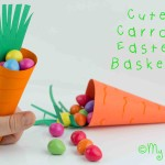 Make A Carrot Easter Basket – Free Printable