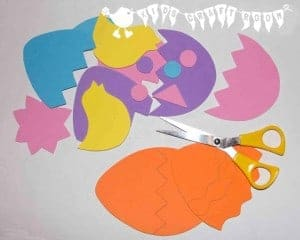 Easter Foam Bath Puzzles