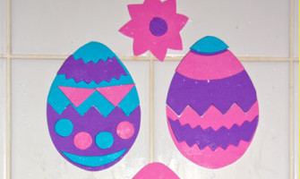 Foam Easter Eggs For Bath Play Pin