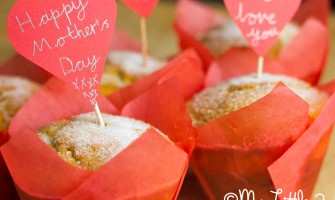 Mother's Day Doughnut Love Muffins