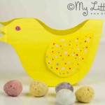 Rocking Easter Chicks – recycled craft