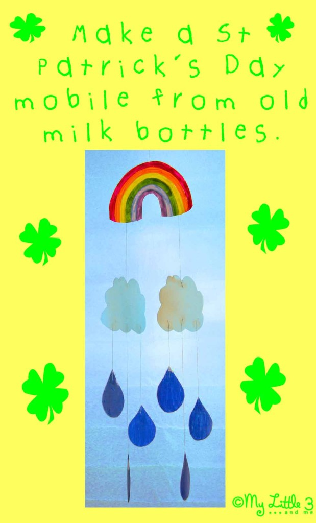 St Patrick's Day Rainbow Mobile