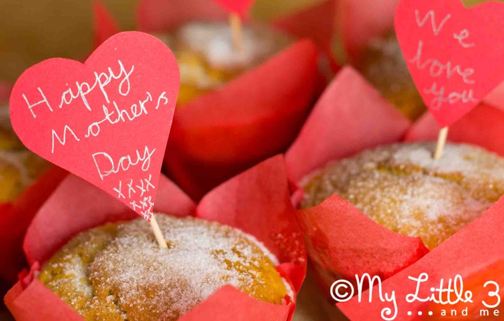 Mother's Day Doughnut Muffins