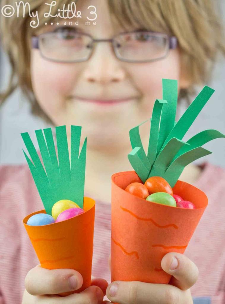Carrot Easter Egg Baskets