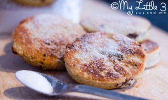 Welsh Cakes - delicious hot or cold.