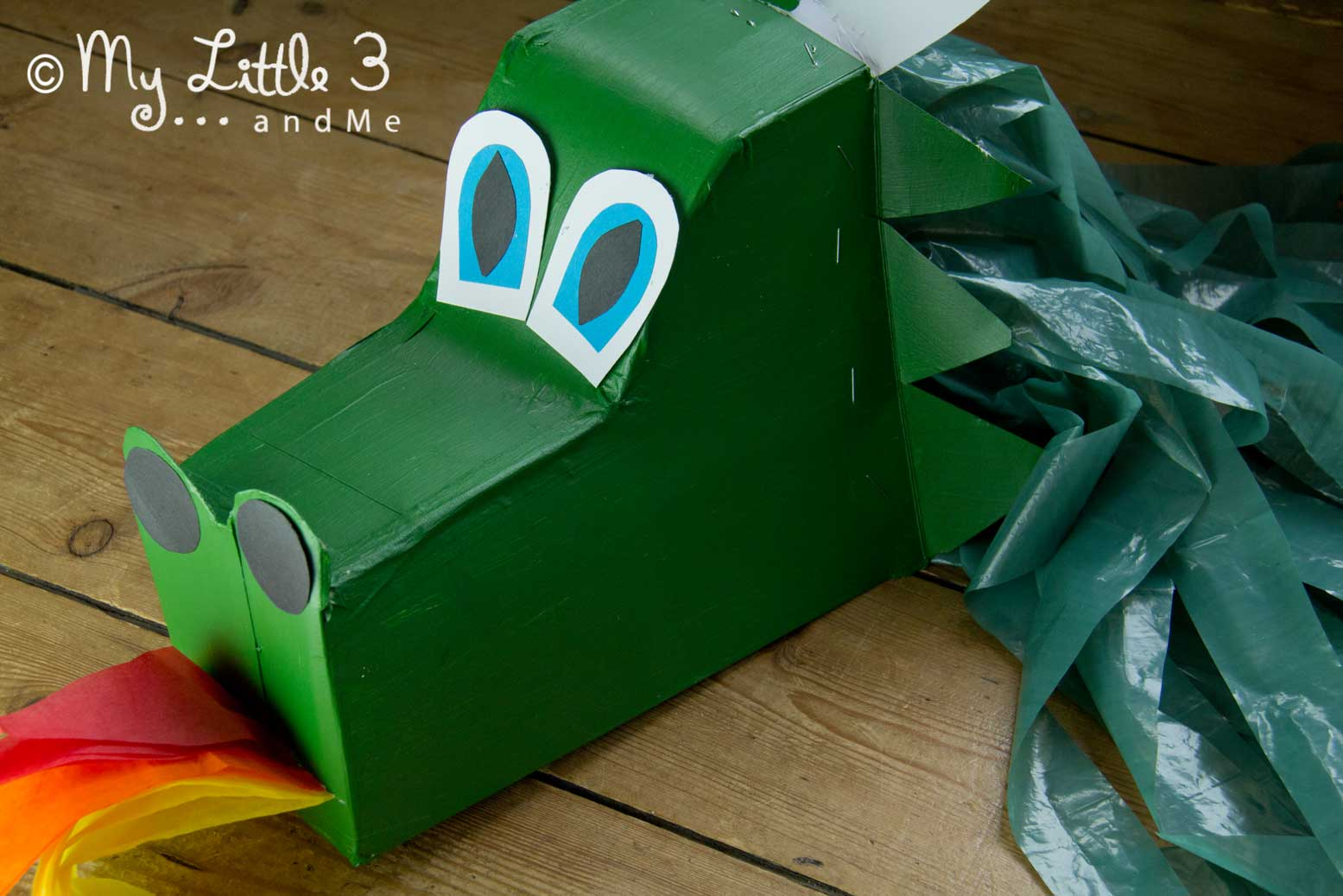 Make A Dragon Hobby Horse  Instructions