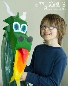 Make a Dragon Hobby Horse