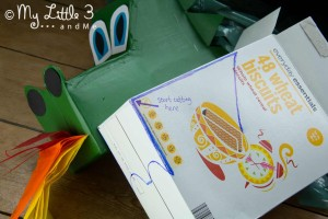 Make a Dragon Hobby Horse - Instructions