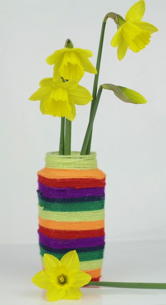 Make a pretty vase