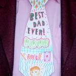 Father's Day Craft – Personalised Necktie