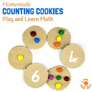 Homemade Counting Cookies