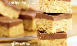 No Cook Peanut Butter Squares