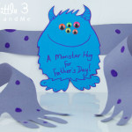 Father's Day Card – A Monster Hug!