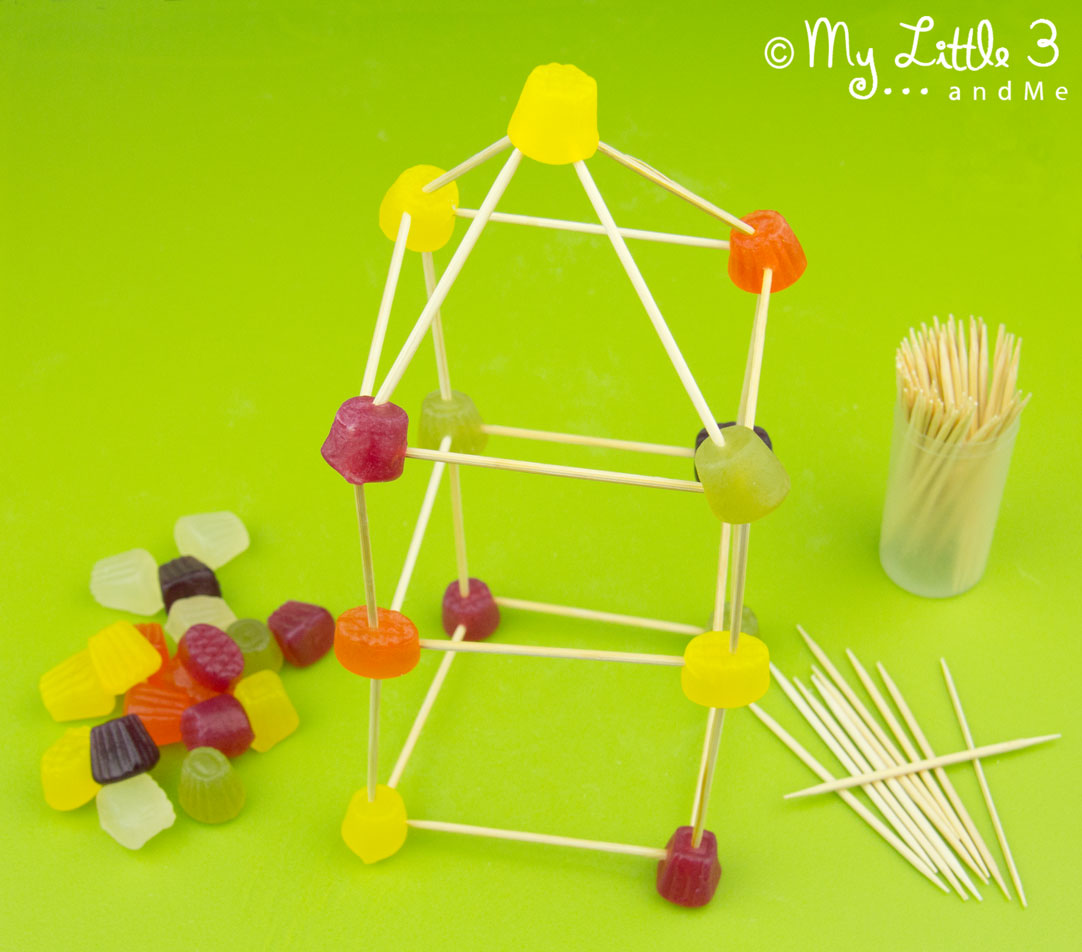 Sweet sculpture for children is a fun, educational and creative activity for all ages. From My Little 3 and Me.