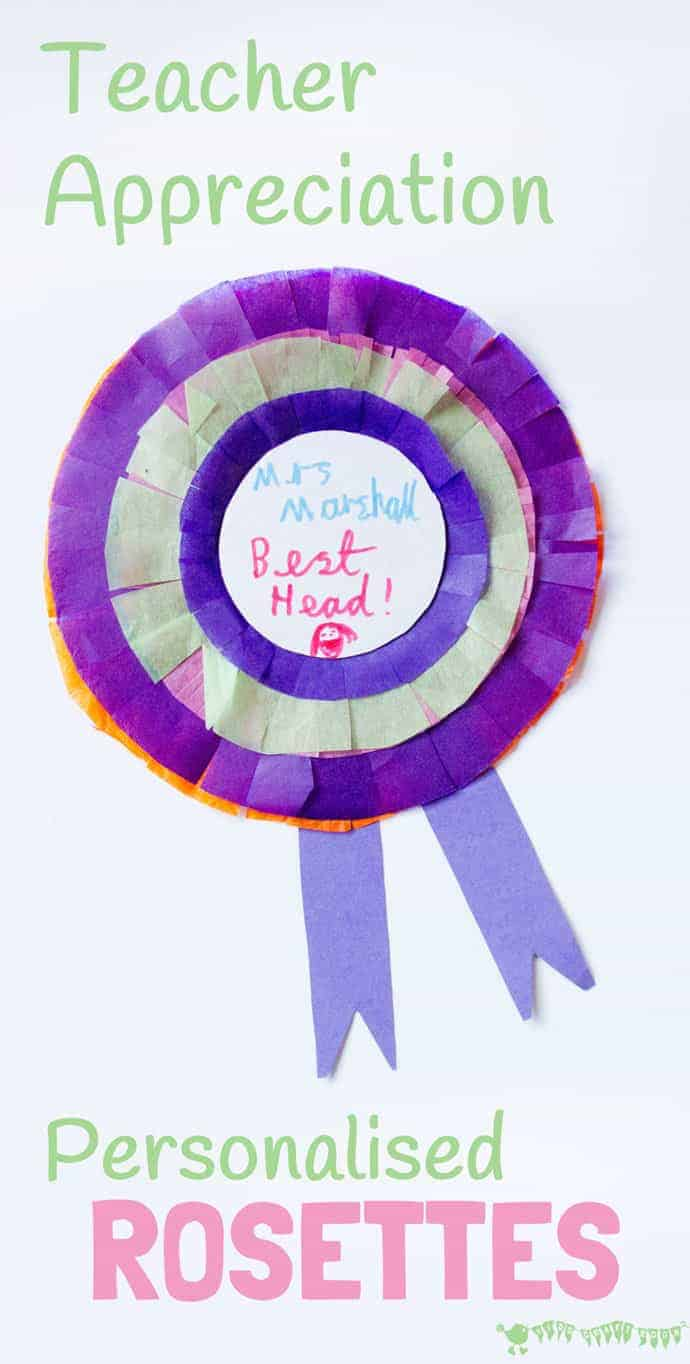 Teacher Appreciation Gifts Rosettes Kids Craft Room
