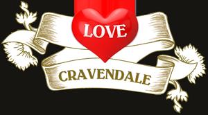 #LoveCravendale Logo