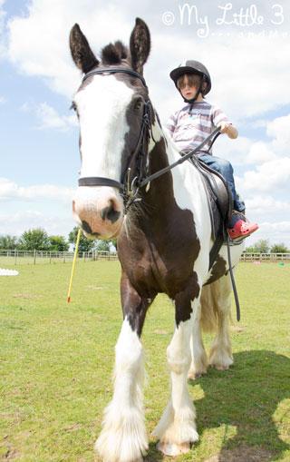 #LoveCravendale horse riding fun
