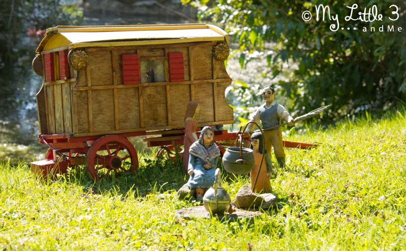 Blackpool-Model-Village-Gypsy-Caravan-A review of our Blackpool holiday from My Little 3 and Me