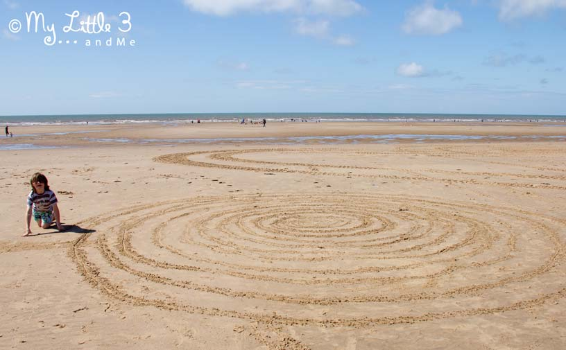Sand-Art-A review of our Blackpool holiday from My Little 3 and Me