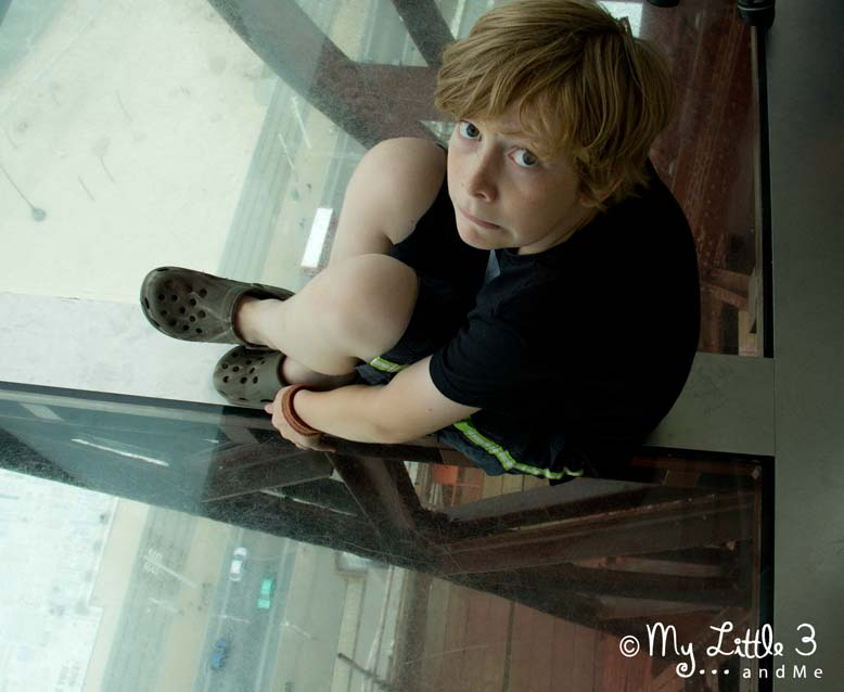 Glass-Floor at Blackpool Tower -A review of our Blackpool holiday from My Little 3 and Me