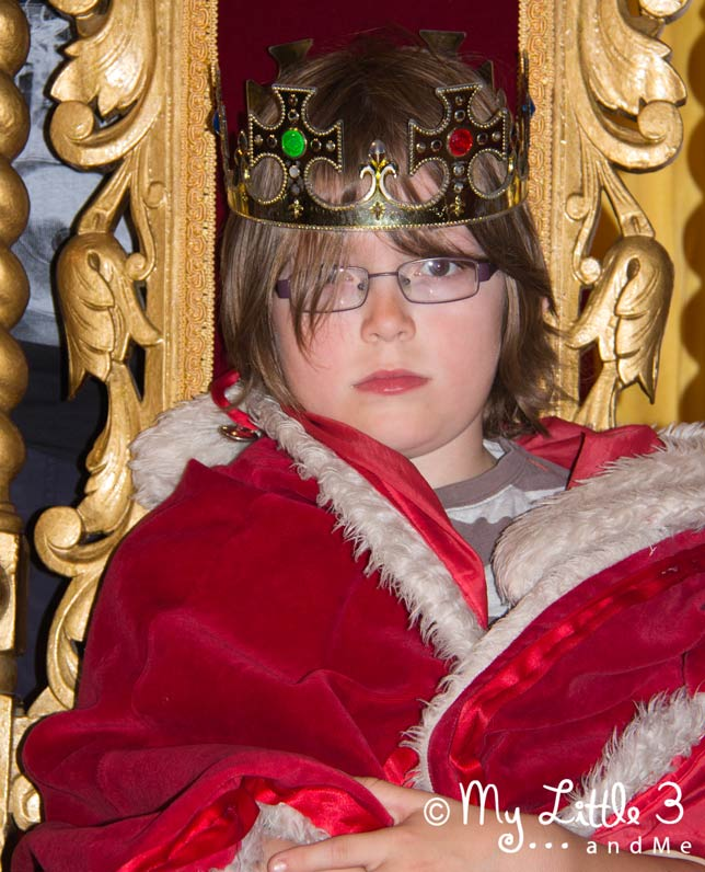 Grumpy-King-A review of our Blackpool holiday from My Little 3 and Me