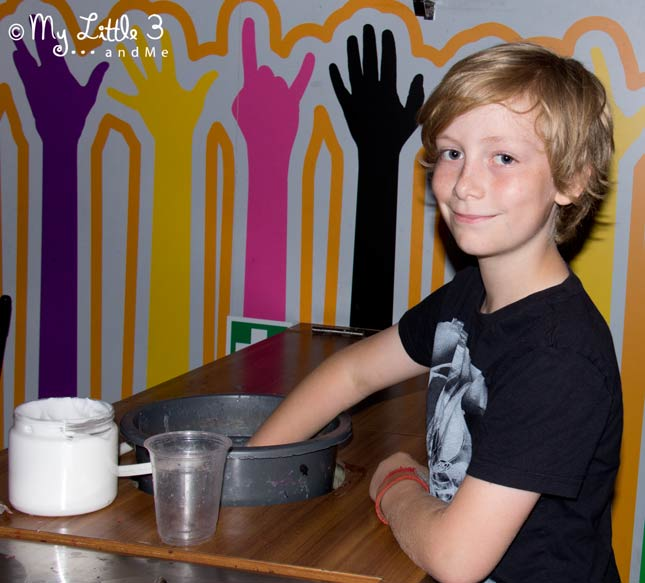 Making-A-Wax-Hand-At-Madame-Tussaud's- A review of our Blackpool holiday from My Little 3 and Me