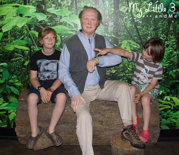 Meeting-David-Attenborough -A review of our Blackpool holiday from My Little 3 and Me